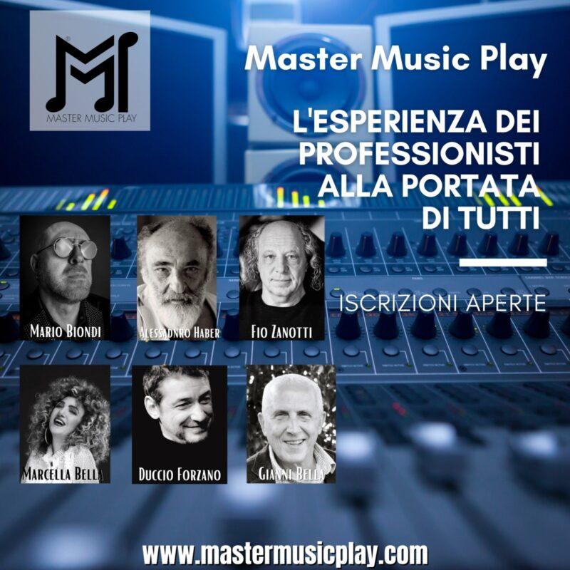 Locandina master music play