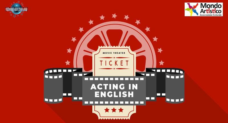 immagine Corso Recitazione Acting in English