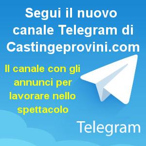 Banner Canale Telegram Castingeprovini.com