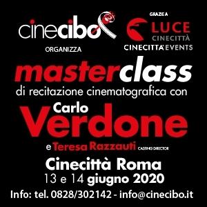 banner Masterclass Verdone Roma