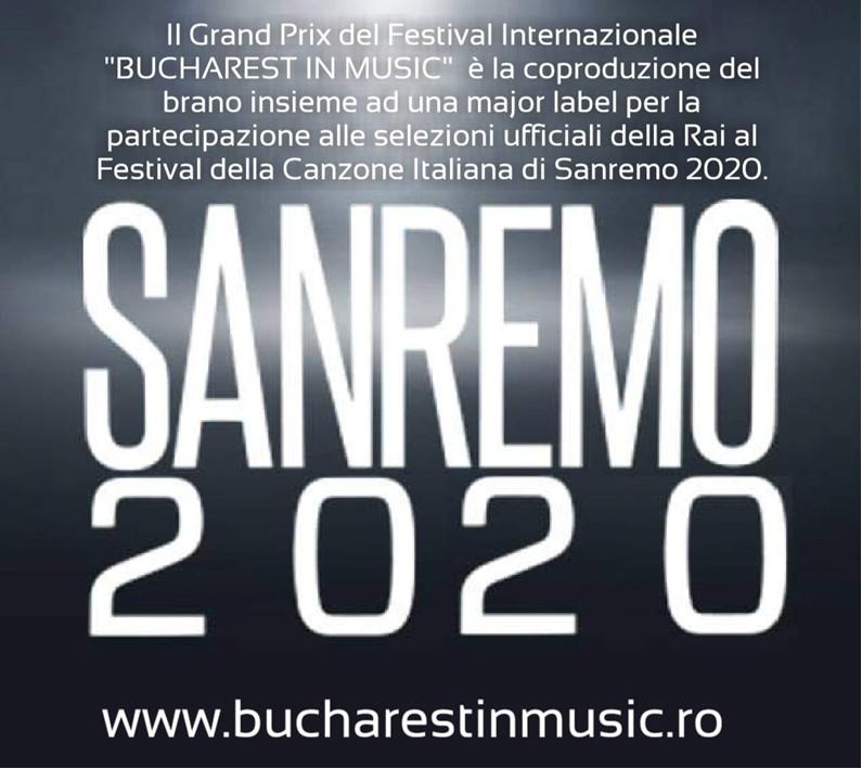 immagine Bucharest in Music ti propone a Sanremo 2020