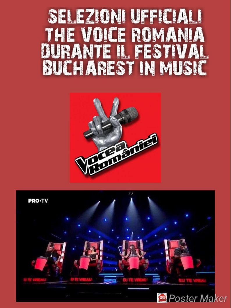 immagine Bucharest in Music e The Voice Romania