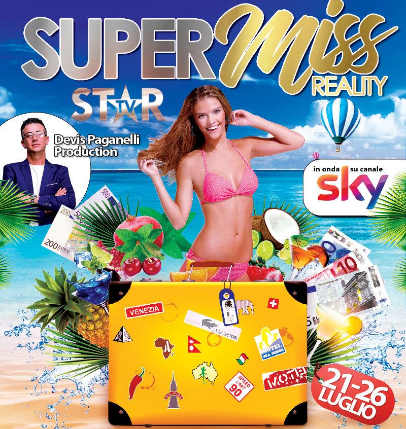 locandina casting reality TV Sky Supermiss