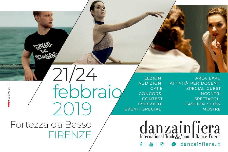 Locandina Danzainfiera Firenze 2019