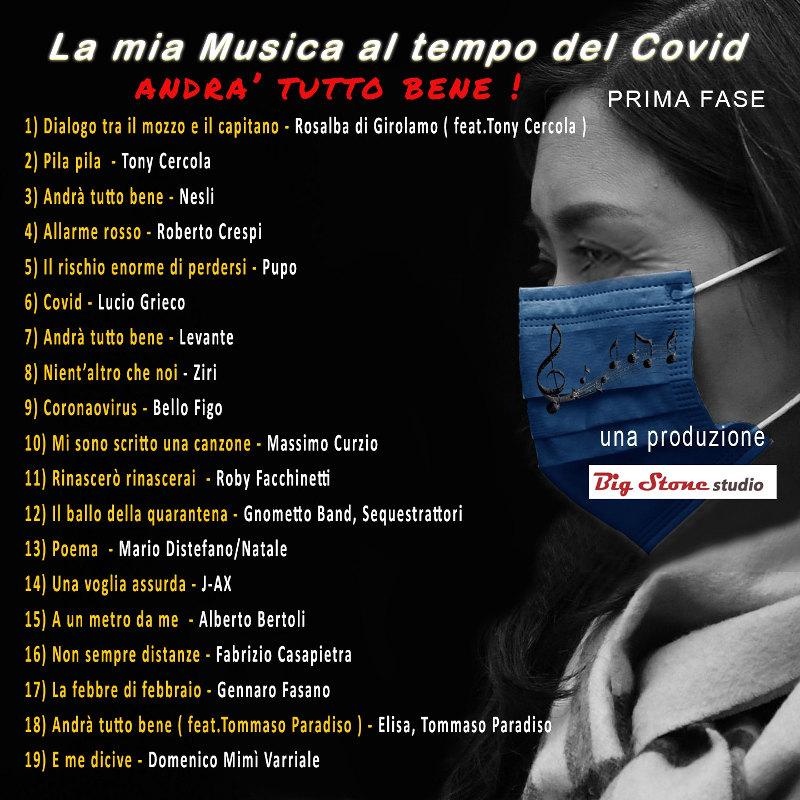 La mia musica al tempo del Covid