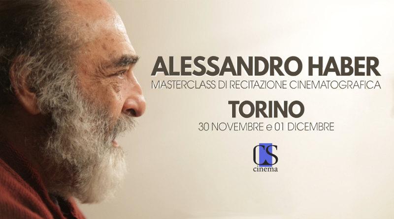 Masterclass Cinematografica Haber Torino