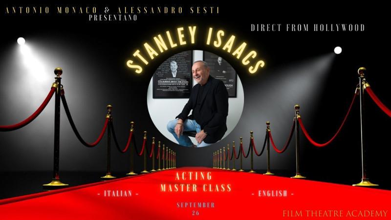 locandina masterclass Stanley Isaacs