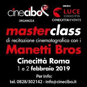 Masterclass Recitazione Manetti Bros
