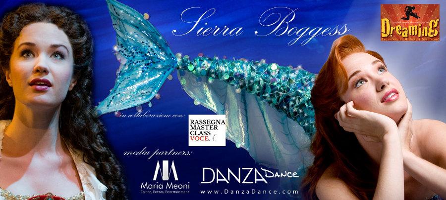locandina masterclass musical Sierra Boggess Veneto