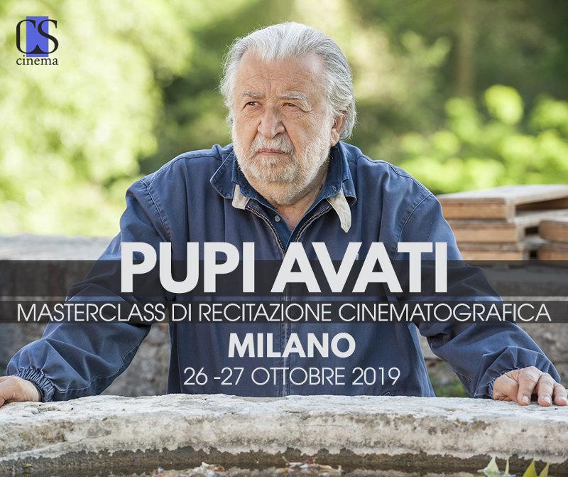 locandina Masterclass Pupi Avati Milano