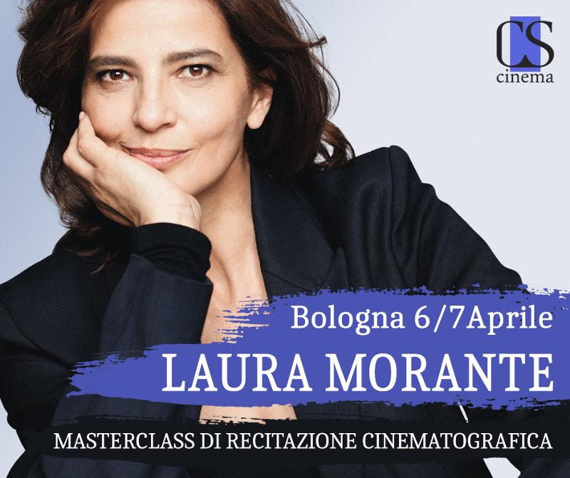 locandina Masterclass recitazione Laura Morante