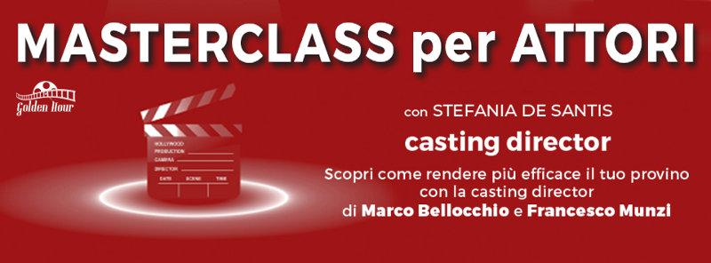 banner masterclass recitazione Stefania De Santis