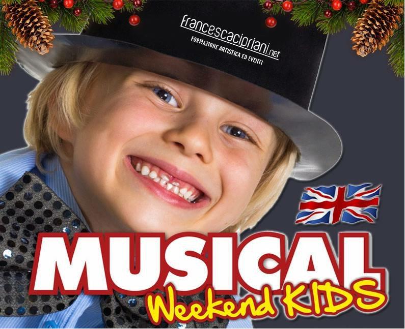 locandina Musical Weekend Kids