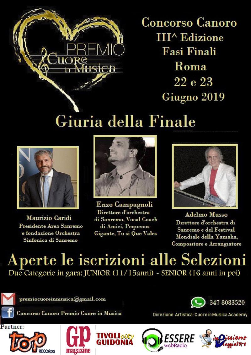 locandina Premio Cuore in Musica