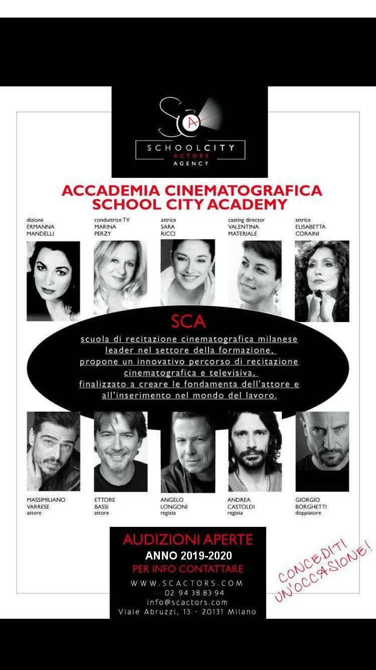 Locandina Accademia School City Actors