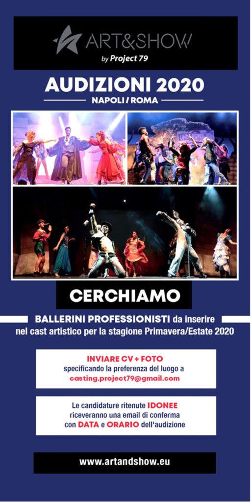 Locandina Selezione ballerini/e Lago di Garda (VR)