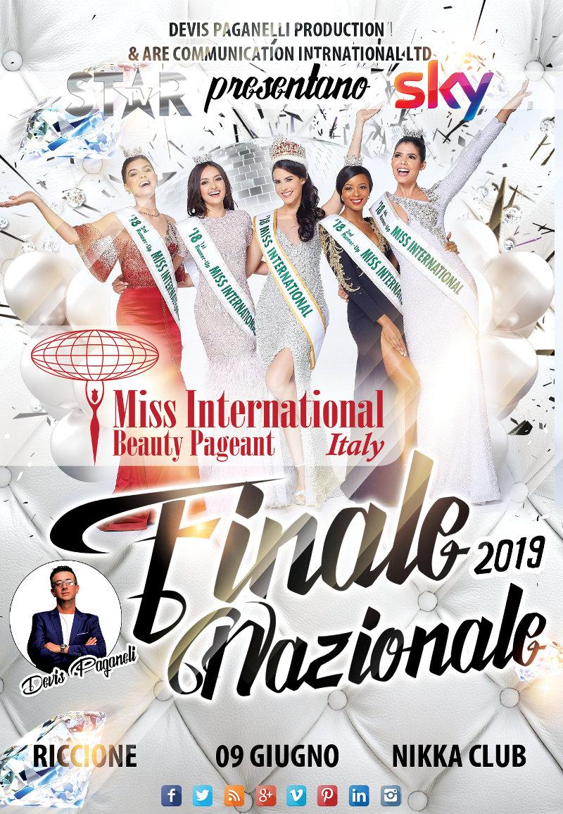 selezioni concorso Miss International