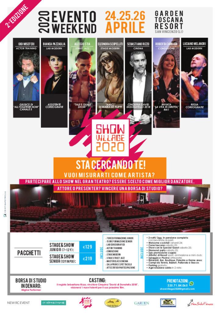 Locandina ShowVillage 2020