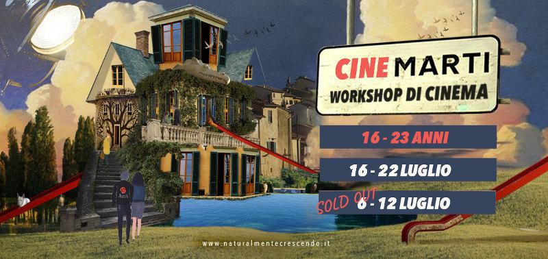 locandina workshop cinema cinemarti