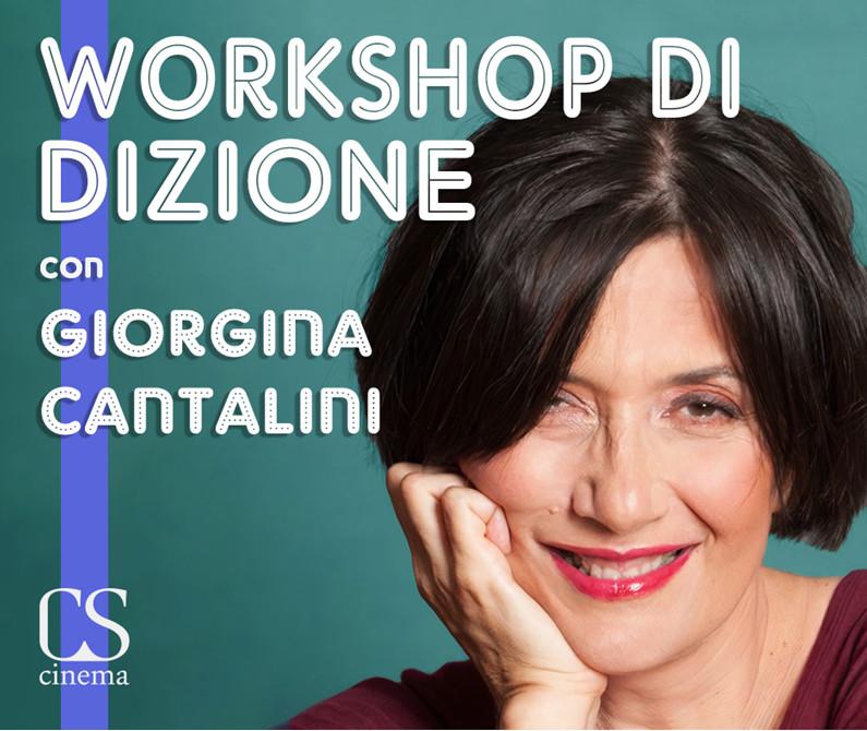 locandina Workshop Dizione Giorgina Cantalini