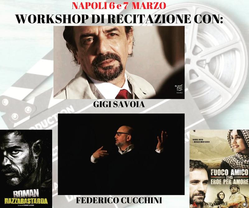 Locandina workshop recitazione Napoli