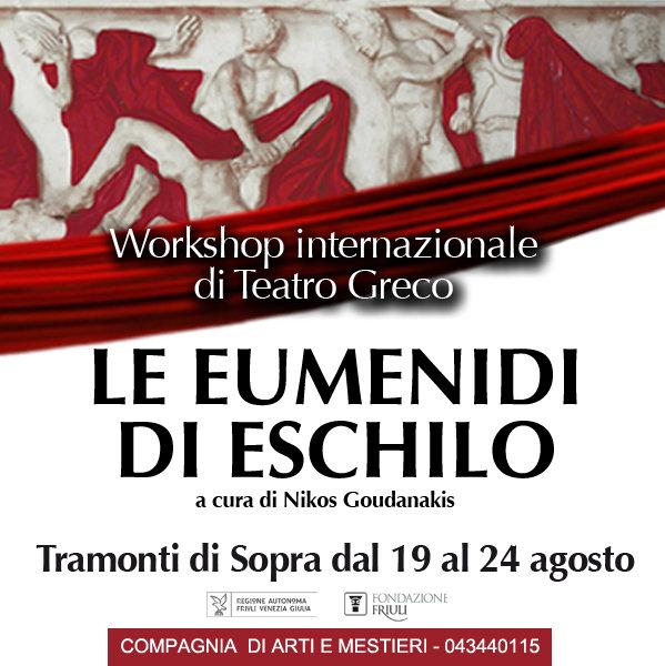 locandina Workshop Recitazione Teatro